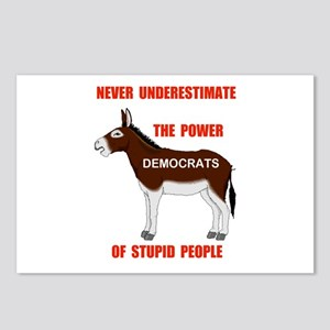 STUPID DEMOCRATS Postcards (Package of 8)