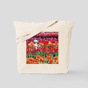 NoteTulipBoy Tote Bag
