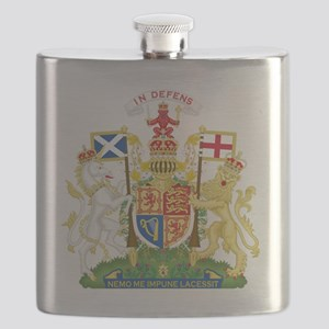 Royal Scotland  Coat of Arms Flask