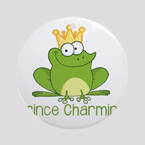 Prince Charming Round Ornament