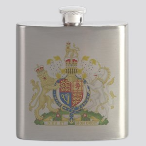Royal United Kingdom  Coat of Arms Flask