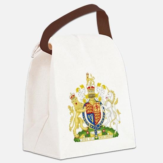 Royal United Kingdom  Coat of Arm Canvas Lunch Bag