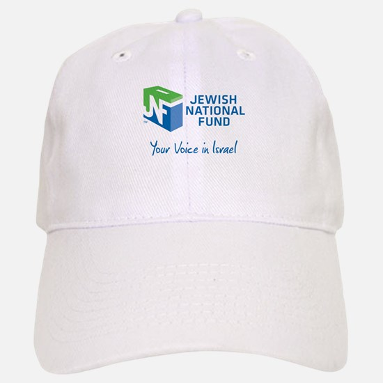 JNF logo your voice in Israel Baseball Baseball Baseball Cap