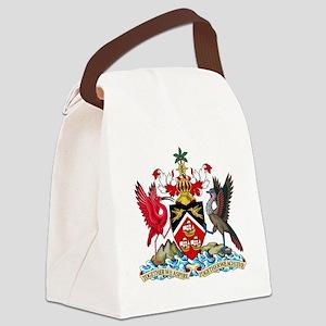 Trinidadand Tobago  Coat of Arms Canvas Lunch Bag