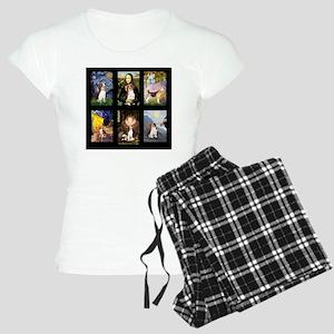 T-Beagle Famous Art Comp Women's Light Pajamas