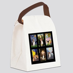 T-Beagle Famous Art Comp Canvas Lunch Bag