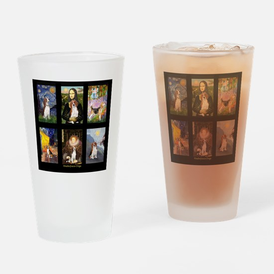 T-Beagle Famous Art Comp Drinking Glass