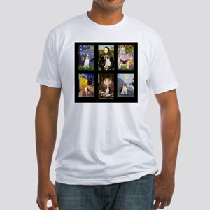 T-Beagle Famous Art Comp Fitted T-Shirt