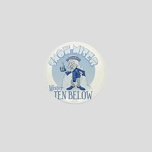 Snow Miser - Mister Ten Below Mini Button