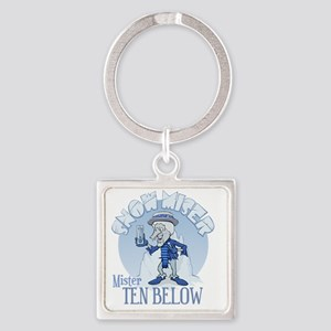 Snow Miser - Mister Ten Below Square Keychain