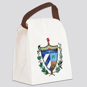 Cuba Coat of Arms Canvas Lunch Bag