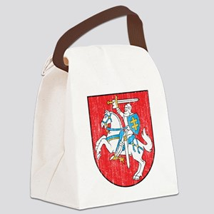 Lithuania Coat of Arms Canvas Lunch Bag