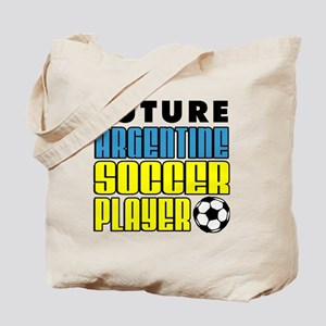 Future Argentine Soccer Player Tote Bag