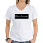 Miscellaneous Women's V-Neck T-Shirt