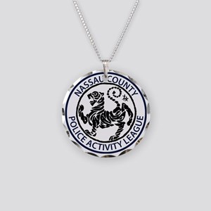 NC PAL Shotokan Karate Tiger Necklace Circle Charm