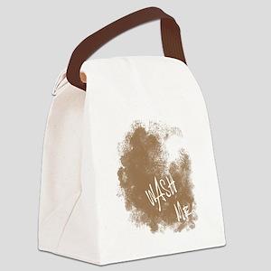 Wash Me! Canvas Lunch Bag