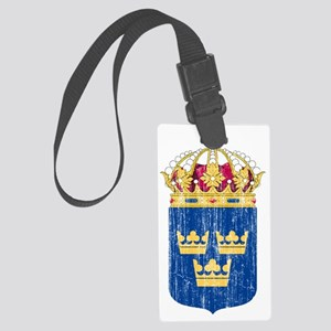 Sweden Lesser Coat of Arms Large Luggage Tag