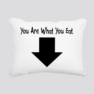 You Are What You Eat Rectangular Canvas Pillow