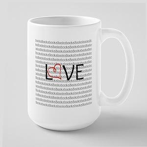 Book Love Hollow Mugs