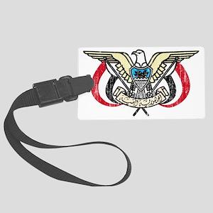 Yemen Coat of Arms Large Luggage Tag