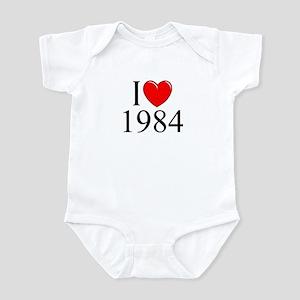 """""""I Love 1984"""" Infant Bodysuit"""