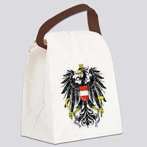Austria Coat of Arms cracle Canvas Lunch Bag