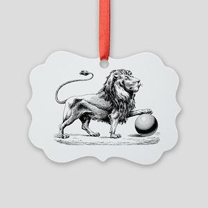 Lion of Judah Picture Ornament