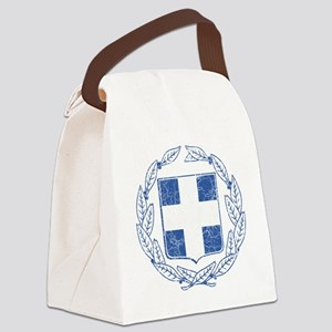 Greece Coat of Arms cracle Canvas Lunch Bag