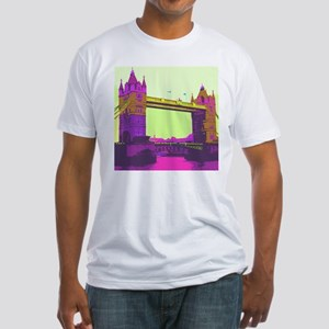 TowerBridge004 Fitted T-Shirt