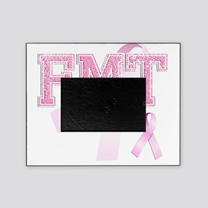 FMT initials, Pink Ribbon, Picture Frame