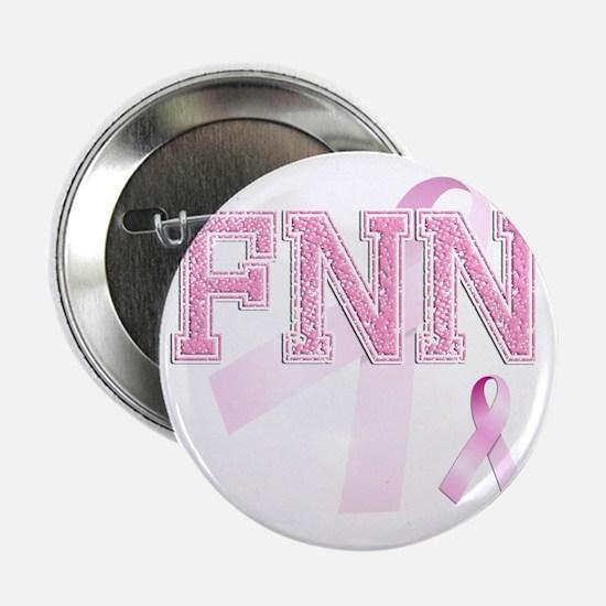 "FNN initials, Pink Ribbon, 2.25"" Button"