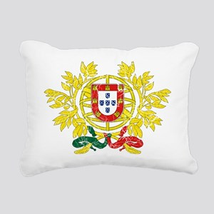 Portugal Coat of Arms cr Rectangular Canvas Pillow