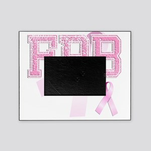 FPB initials, Pink Ribbon, Picture Frame