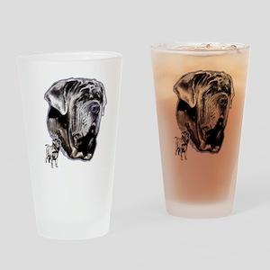 Neapolitan mastiff by madeline wilson Drinking Gla