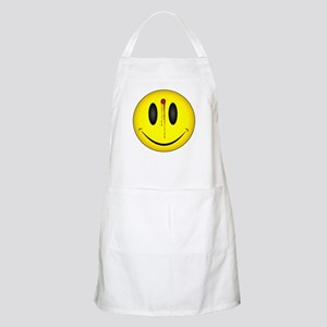 Bleeding Smiley Face BBQ Apron