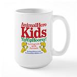 Animalhero Kids Yipyiphooray! Large Mug