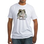 Hello... Goodbye Fitted T-Shirt