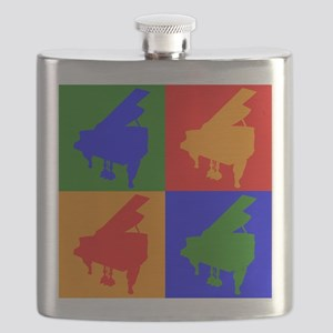 Piano Pop Art Flask