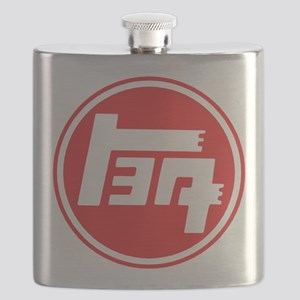 TEQ logo red large Flask