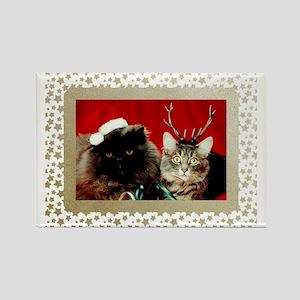 Vintage Christmas C... Rectangle Magnet