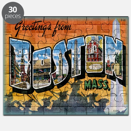 Greetings from Boston Puzzle