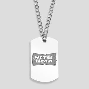 Metal Head Dog Tags