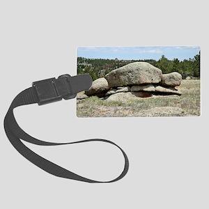 IMG_9053 Rock Pile Large Luggage Tag