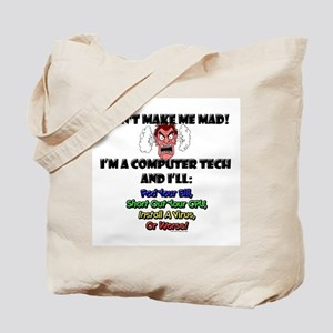 Computer Tech Tote Bag