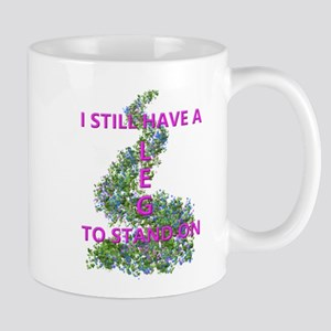 Leg To Stand On, flowers Mugs