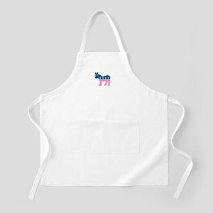 ::: Democratic Donkey Pink/Blue ::: BBQ Apron