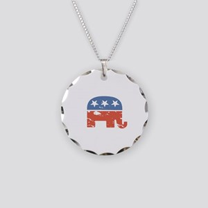 Mitt is the Shit Necklace Circle Charm