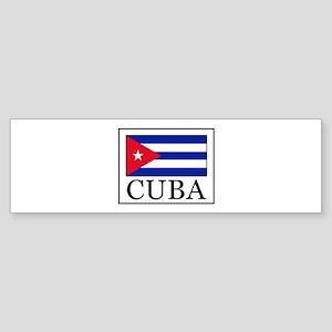 Cuba Bumper Sticker