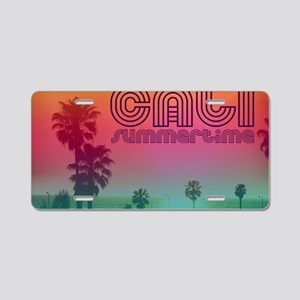 Cali summertime Aluminum License Plate