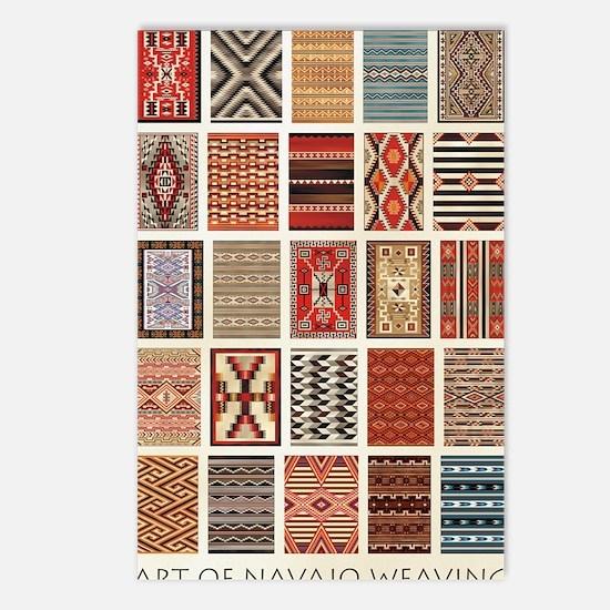 Art of Navajo Weaving Postcards (Package of 8)